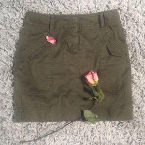 Cargo mini skirt!